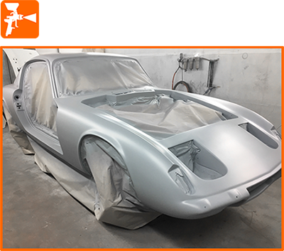 Auto bodywork and paint spraying