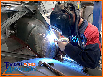 car rejuvenation and structural welding