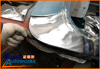 car exhaust welding repair
