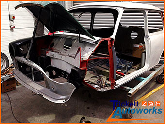 car bodywork fabrication and welding